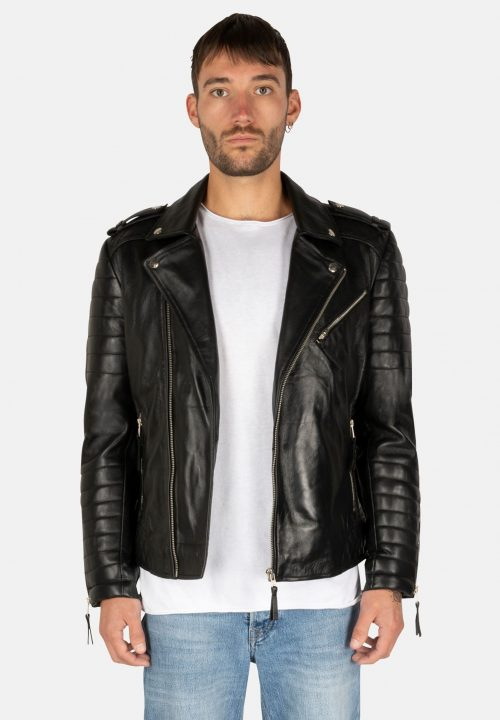 BLACK PERFECTO LEATHER JACKET