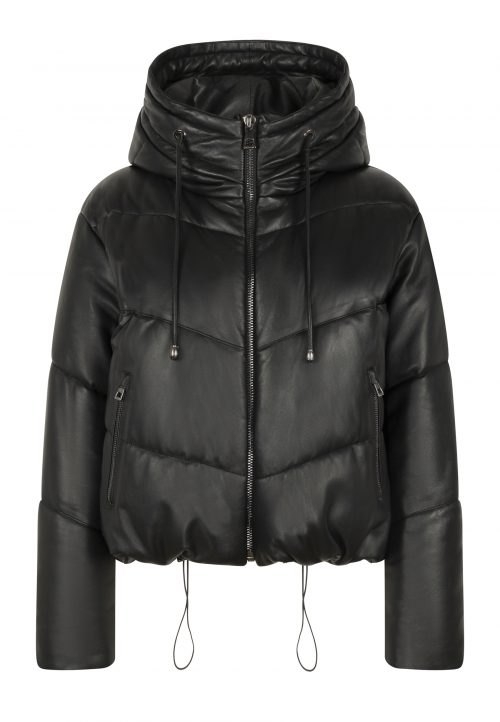 ICY PUFFER – WINTER JACKET – black